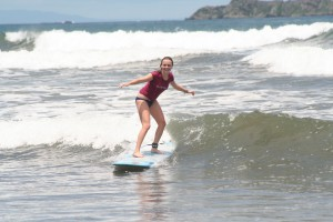 Surfing in Uvita Costa Rica
